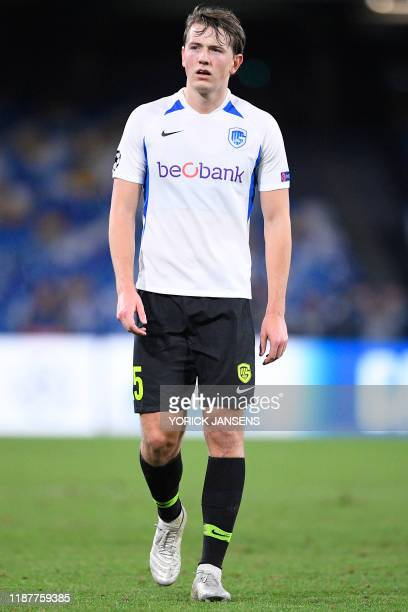 Genk's Sander Berge pictured after the game between Belgian soccer team KRC Genk and Italian club SSC Napoli in Naples Italy Tuesday 10 December 2019...