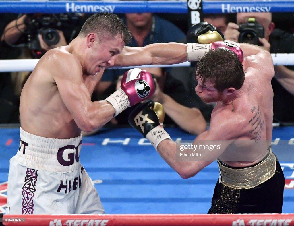 Gennady Golovkin v Canelo Alvarez : ニュース写真