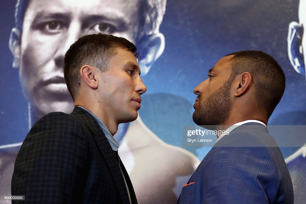 Gennady Golovkin & Kell Brook Press Conference