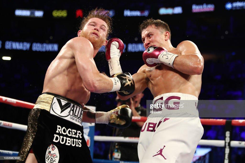 Gennady Golovkin v Canelo Alvarez : News Photo