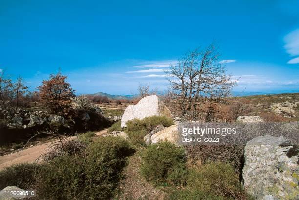 Gennargentu Massif Mount Spada in the background Sardinia Italy