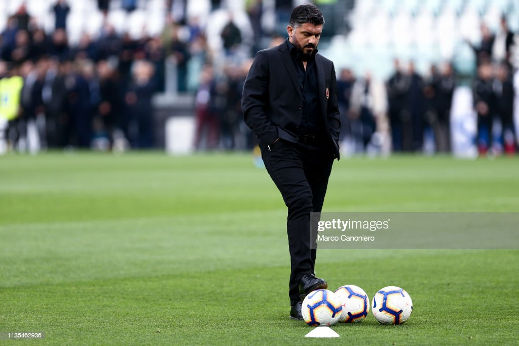Gennaro Gattuso Head Coach Of Ac Milan Looks On Before The Serie A News Photo Getty Images