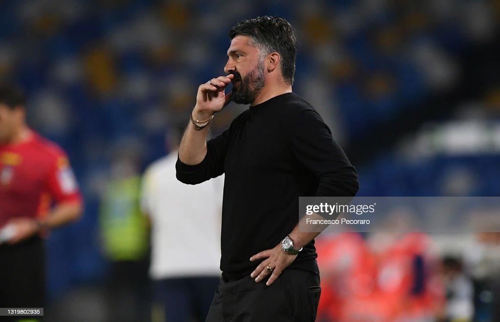 SSC Napoli v Hellas Verona FC - Serie A : News Photo