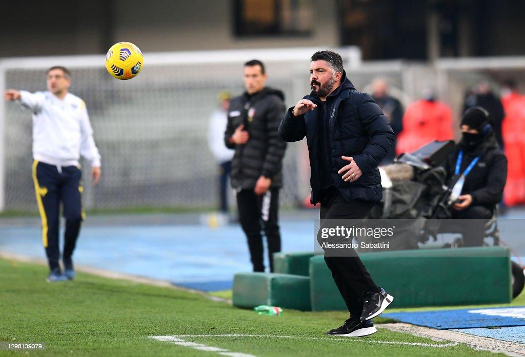 Hellas Verona FC v SSC Napoli - Serie A : News Photo