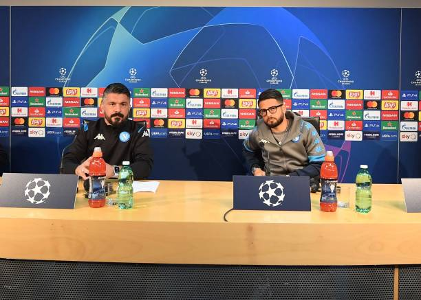 ITA: SSC Napoli Training Session and Press Conference
