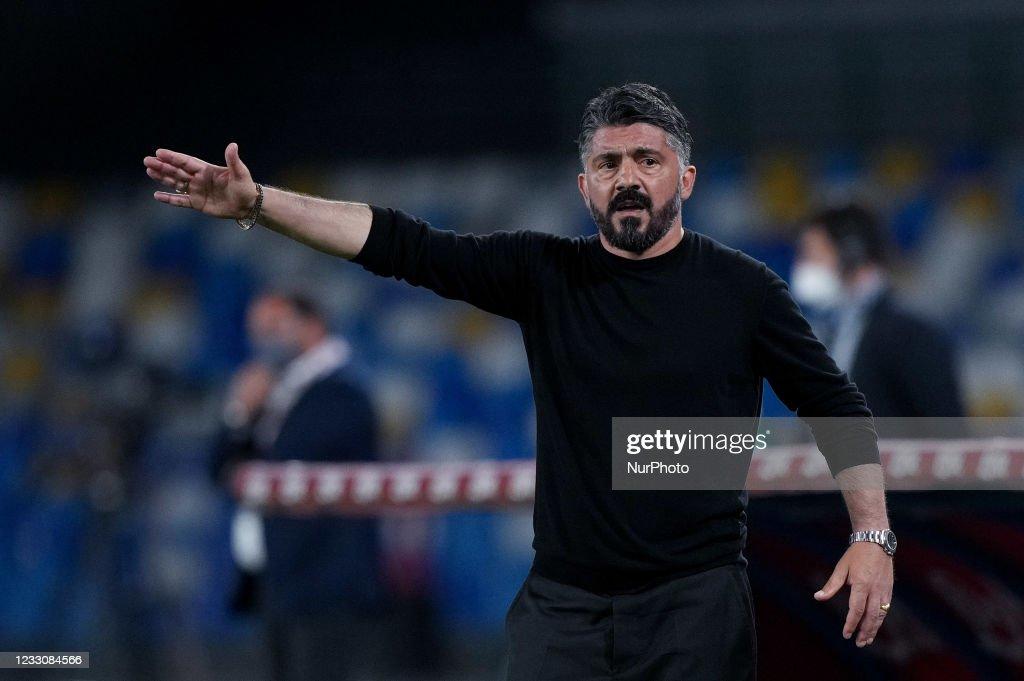 SSC Napoli v Hellas Verona - Serie A : News Photo