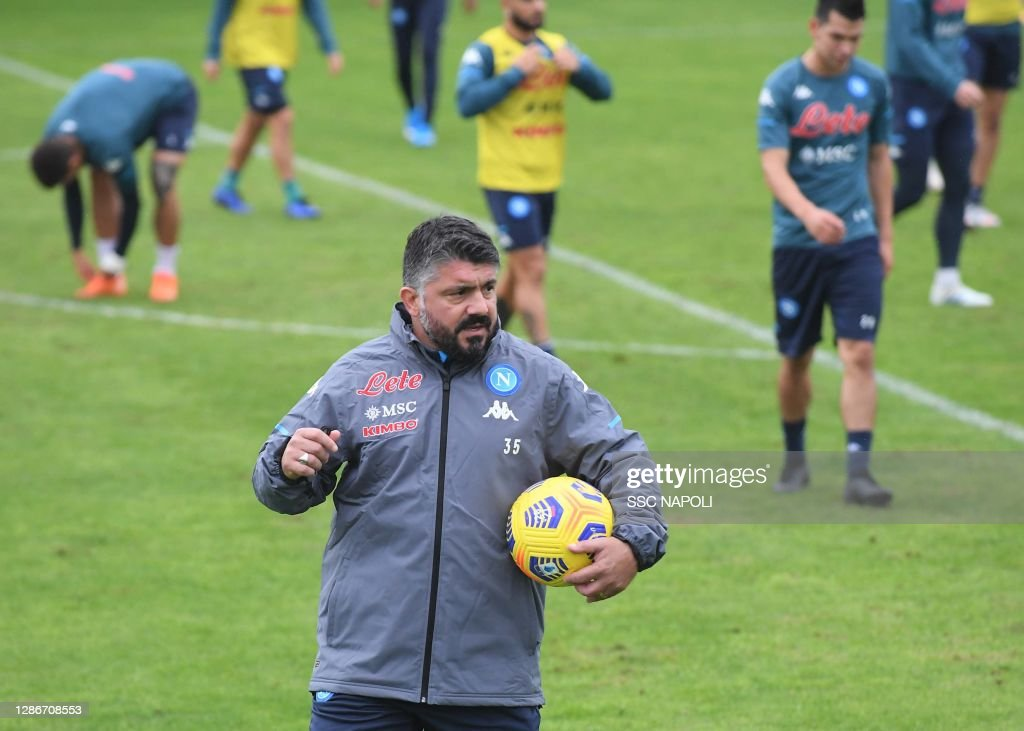 SSC Napoli - Training Session : News Photo