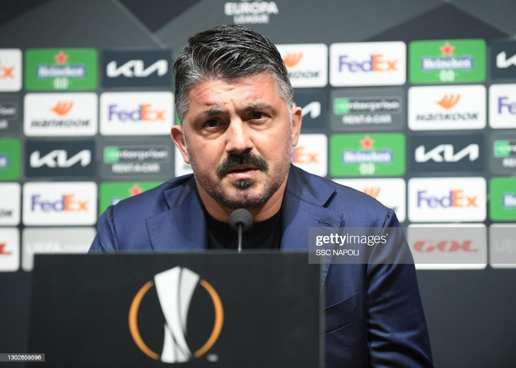 SSC Napoli Training Session & Press Conference : News Photo