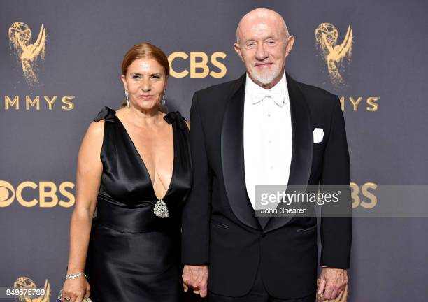 Gennera Banks and actor Jonathan Banks attend the 69th Annual Primetime Emmy Awards at Microsoft Theater on September 17 2017 in Los Angeles...
