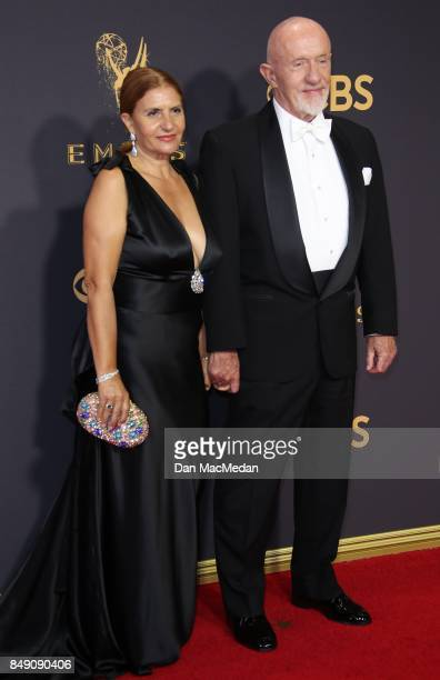 Gennera Banks and Jonathan Banks arrive at the 69th Annual Primetime Emmy Awards at Microsoft Theater on September 17, 2017 in Los Angeles,...