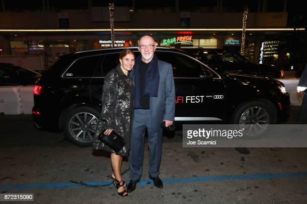 Gennera Banks and Jonathan Banks attend Audi Opening Night Arrivals at AFI Festival at Hollywood Roosevelt Hotel on November 9 2017 in Hollywood...