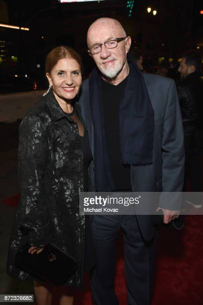 """Gennera Banks and Jonathan Banks attend the screening of Netflix's """"Mudbound"""" at the Opening Night Gala of AFI FEST 2017 Presented By Audi at TCL..."""
