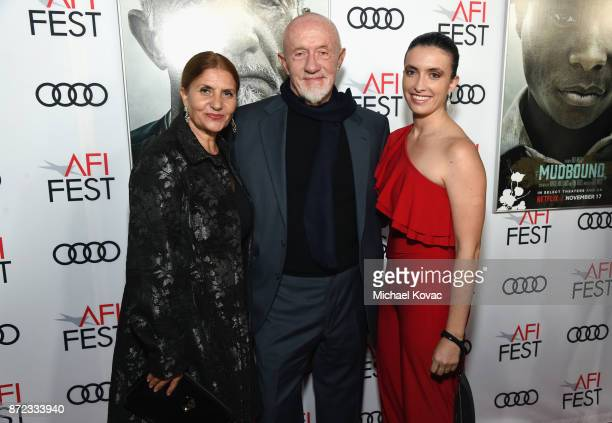 """Gennera Banks, Jonathan Banks, and Rebecca Banks attend the screening of Netflix's """"Mudbound"""" at the Opening Night Gala of AFI FEST 2017 Presented By..."""