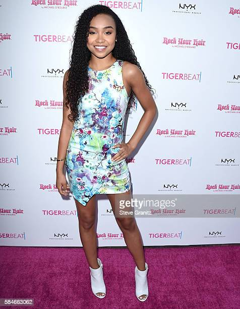 Genneya Walton arrives at the Tiger Beat's PreParty Around FOX's Teen Choice Awards at HYDE Sunset Kitchen Cocktails on July 28 2016 in West...