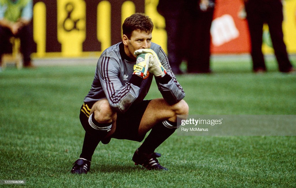 Republic of Ireland v Romania - FIFA World Cup 1990 Round of 16 : News Photo