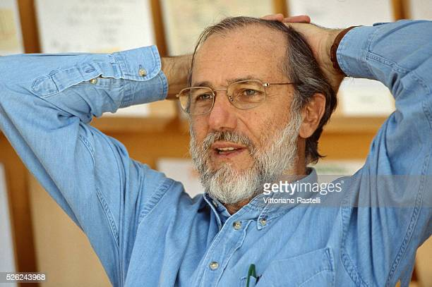 Genoa Italy Italian architect Renzo Piano is shown inside his studio in his villa of Punta Nave March 7 2007 Piano is one of the best known...