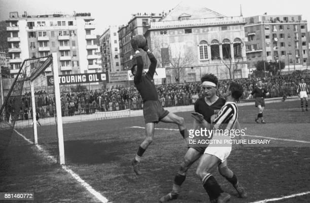 GenoaJuventus football match Luigi Ferraris Stadium March 5 Genoa Italy 20th century