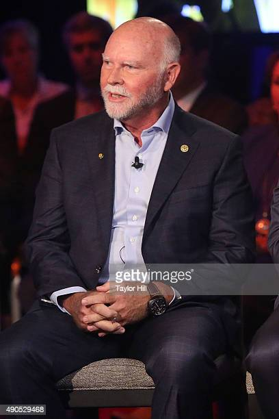 Genome sequencer J Craig Venter speaks during the 2015 Clinton Global Initiative Annual Meeting at Sheraton Times Square on September 29 2015 in New...
