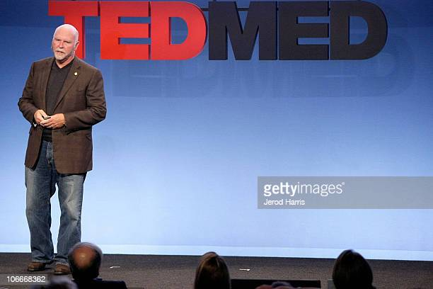 Genomic Scientist Dr Craig Venter at TEDMED on October 27 2010 in San Diego California
