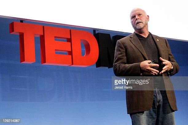 Genomic Scientist Dr Craig Venter at TEDMED on October 27 2010 in San Diego California