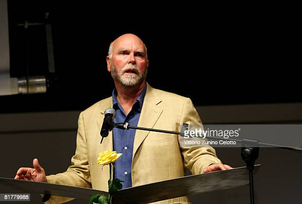 Genomics pioneer and Nobel Prize Craig Venter attends the third day of Milanesiana 2008 at Teatro Dal Verme on June 30 2008 in Milan Italy