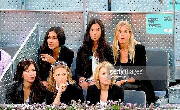 Genoveva Casanova attends Madrid Open tennis tournament at La Caja Magica on May 15 2009 in Madrid Spain
