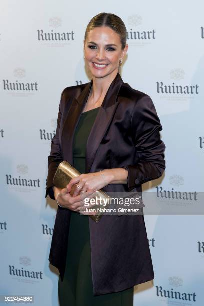 Genoveva Casanova attends the celebration of the new ARCO edition with Ruinart at Marlborough Garelly on February 21 2018 in Madrid Spain