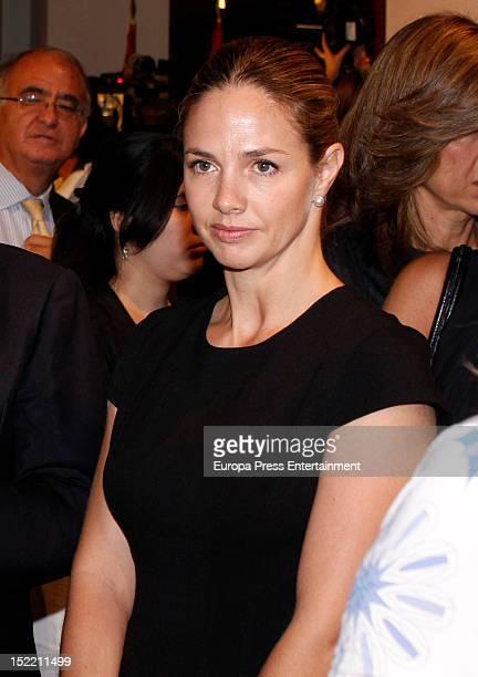 Genoveva Casanova attends the presentation of 'El Legado Casa de Alba' painting exhibition on September 14, 2012 in Madrid, Spain.
