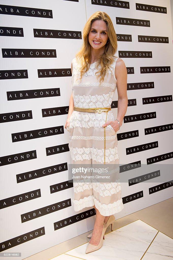 Fabiola Martinez And Genoveva Casanova Present 'Alba Conde' Store in Madrid