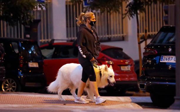 Genoveva Casanova is seen on June 09 2020 in Madrid Spain