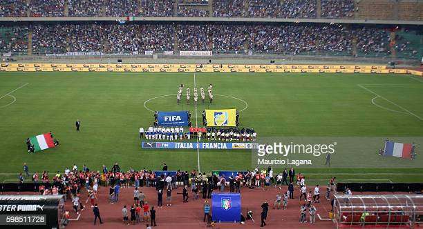 A genral view of stadium prior the international friendly match between Italy and France at Stadio San Nicola on September 1 2016 in Bari Italy