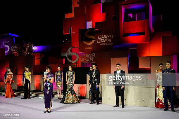 Genral view of the 2016 China Open Player Party at The Birds Nest on October 3 2016 in Beijing China