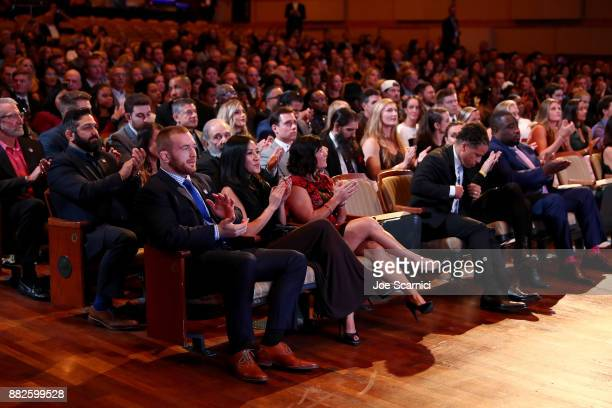 A genreal view of the audience during the 2017 Team USA Awards on November 29 2017 in Westwood California