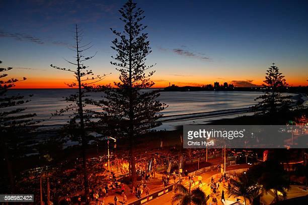 Genreral view before racre start of the Ironman 70.3 World Championship on September 4, 2016 in Sunshine Coast, Australia.