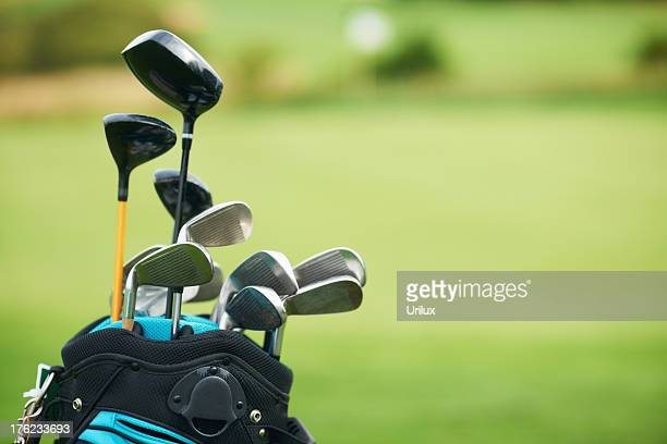 gentelman's tools - golfing - golf club stock pictures, royalty-free photos & images