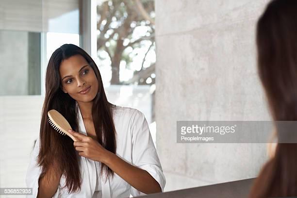 Gentle grooming for healthy hair