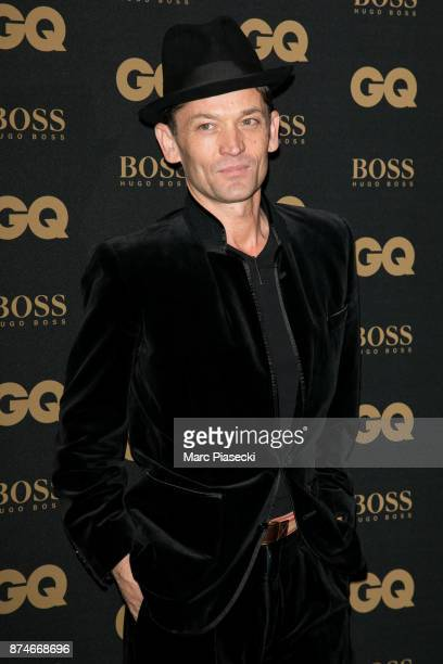 Gentleman of the Year Daniel de la Falaise attends the 'GQ Men of the year awards 2017' at Le Trianon on November 15 2017 in Paris France