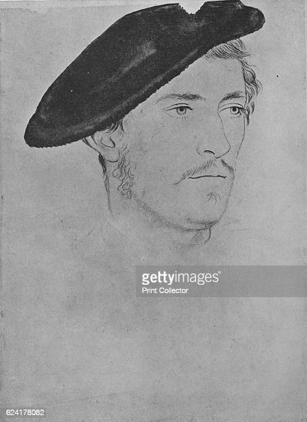 Unknown ' c16th century After Hans Holbein the Younger The drawing is part of the Royal Collection Trust Windsor Castle From The Drawings of Holbein...