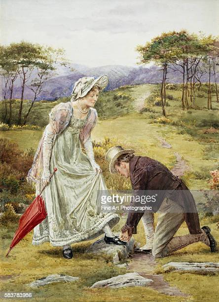 Gentlemanly Act by George Goodwin Kilburne
