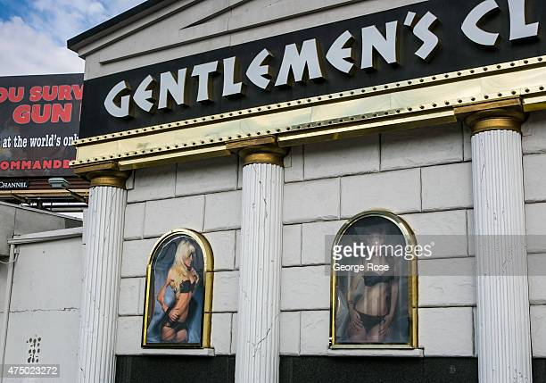 Gentlemen's Club formerly the Crazy Horse II is viewed on May 17 2015 in Las Vegas Nevada Tourism in America's 'Sin City' has within the past year...
