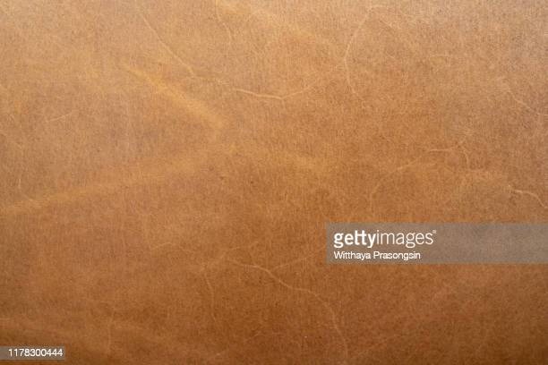 genuine leather scratched texture - leather stock pictures, royalty-free photos & images