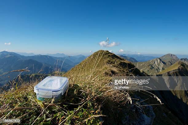 Geocaching in den Bergen