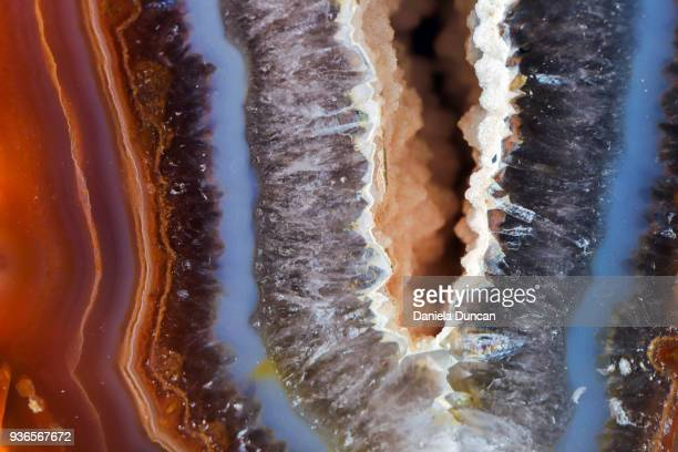 Geode surface up close