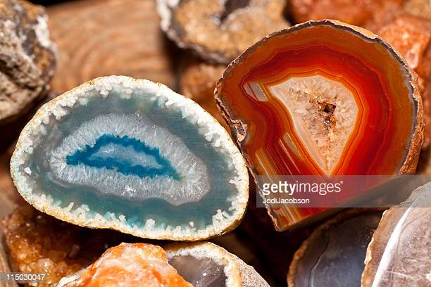 geodes - mineral stock pictures, royalty-free photos & images