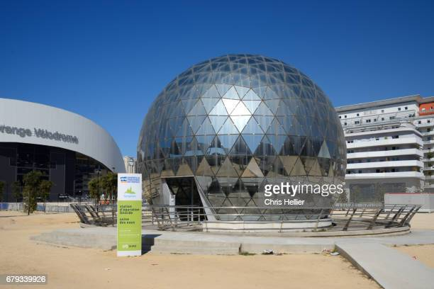 Geodesic Dome Water Treatment Works Marseille
