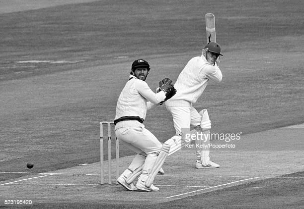 Geoff Boycott batting for England during his innings of 78 in the Prudential Trophy One Day International match between England and Australia at...