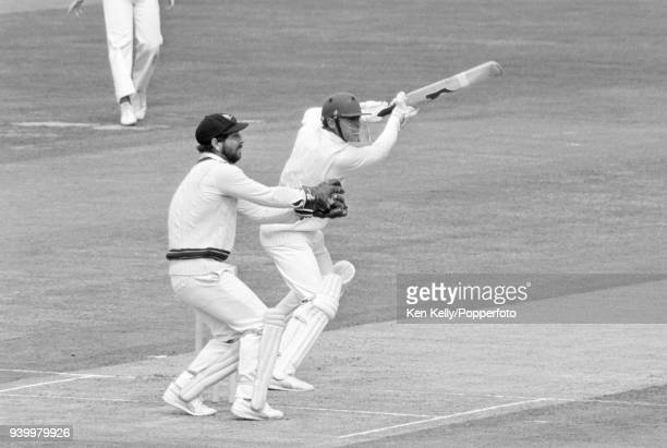 Geoff Boycott batting for England during his innings of 78 runs in the 2nd Prudential Trophy One Day International between England and Australia at...