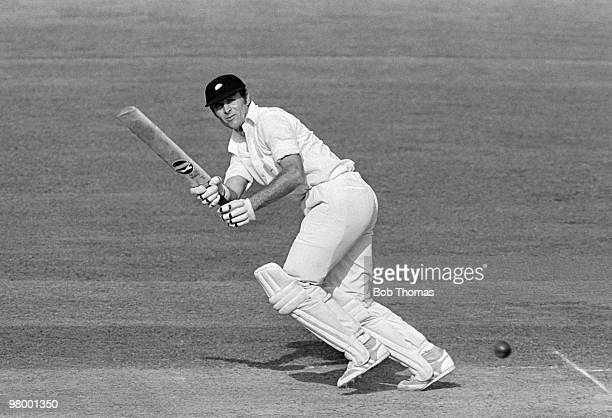 Geoff Boycott batting for Yorkshire during their John Player Sunday League match against Nottinghamshire at Trent Bridge in Nottingham, 13th May...