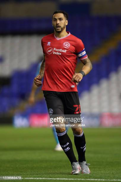 Geoff Cameron of Queens Park Rangers during the Sky Bet Championship match between Coventry City and Queens Park Rangers at St Andrew's Trillion...