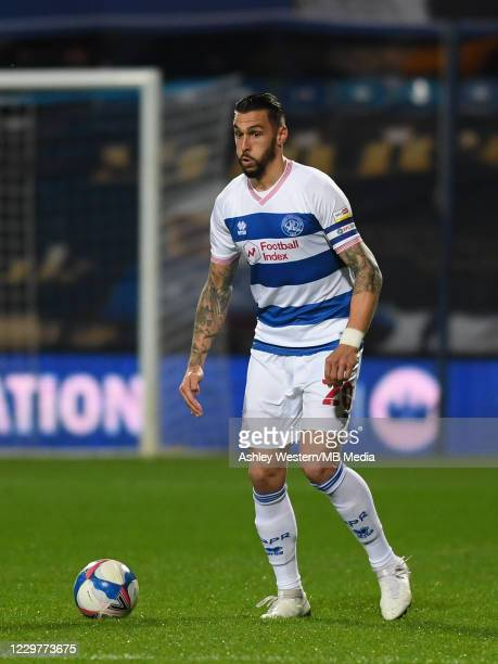 Geoff Cameron of Queens Park Rangers in action during the Sky Bet Championship match between Queens Park Rangers and Rotherham United at The Kiyan...